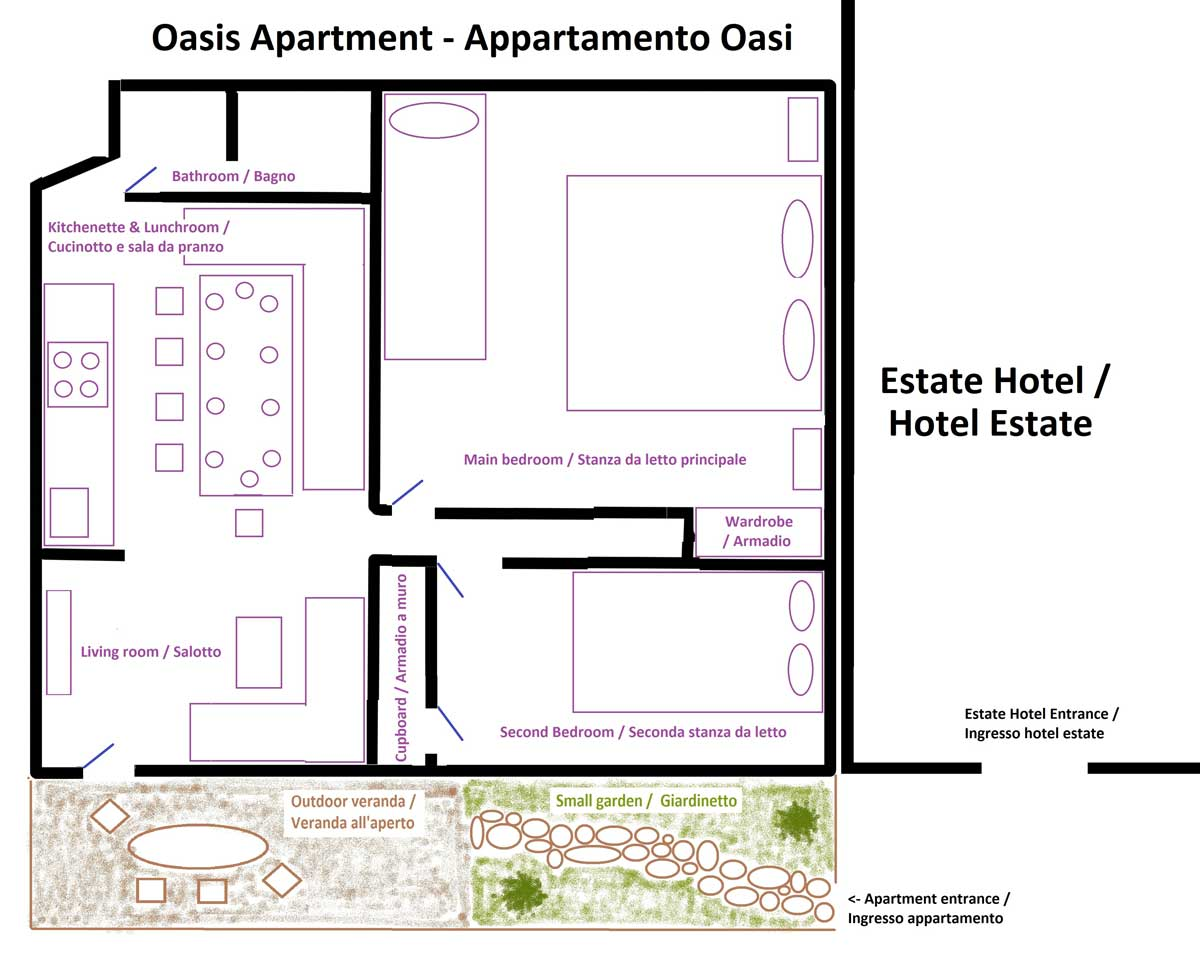 Apartament Oasi, Hotel Estate